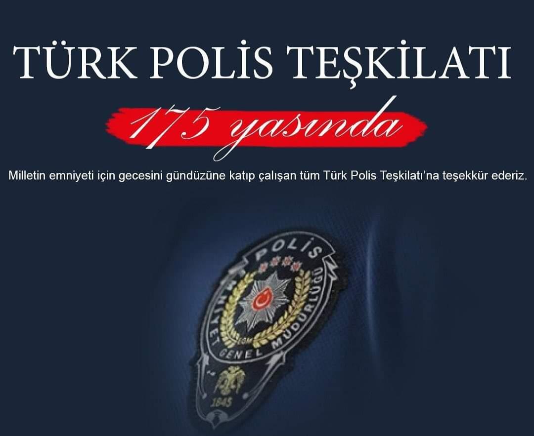 Polis Haftası resimli mesajları