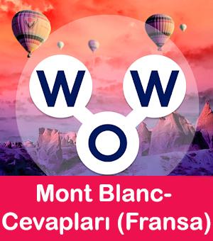 WOW Oyunu – Mont Blanc- Cevapları (Fransa)