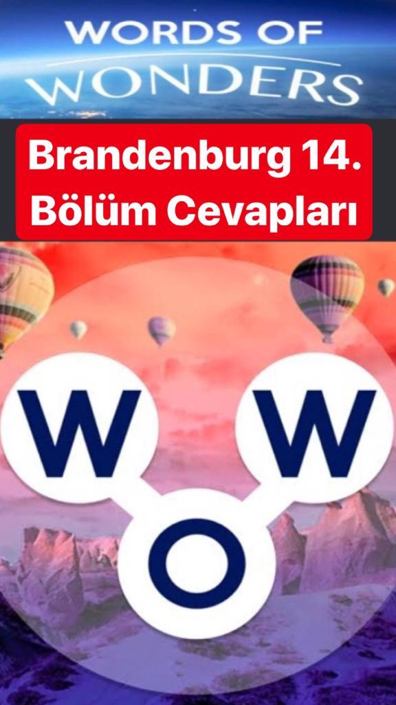 Brandenburg Kapısı14.Bölüm Cevapları (Wow- Kelime Bulmaca Oyunu)