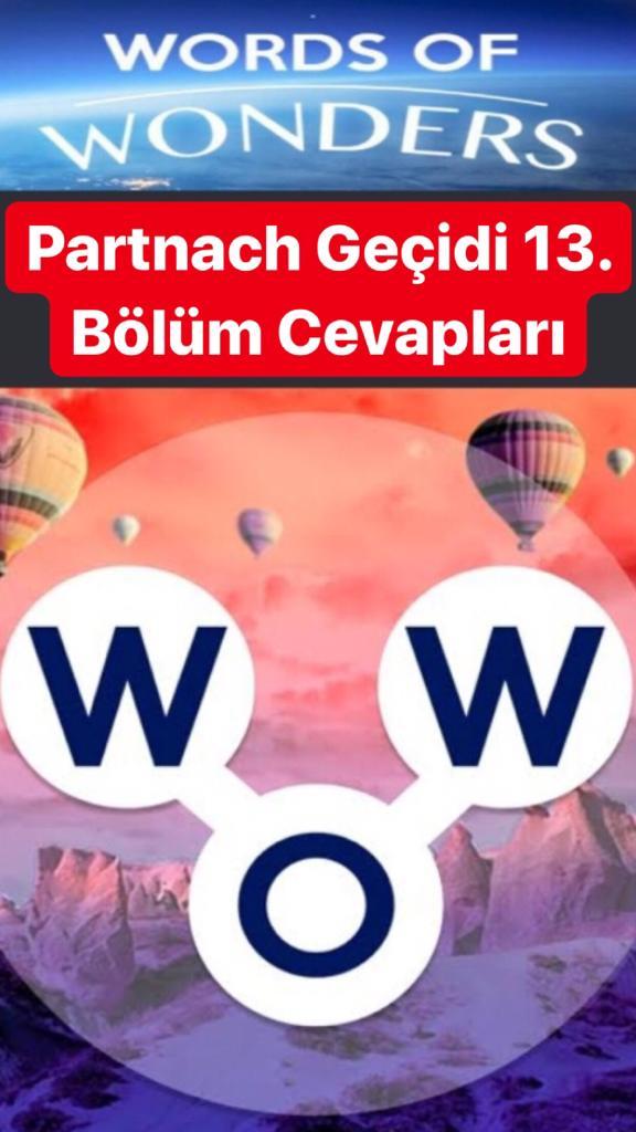 Obersee13.Bölüm Cevapları (Wow- Kelime Bulmaca Oyunu)