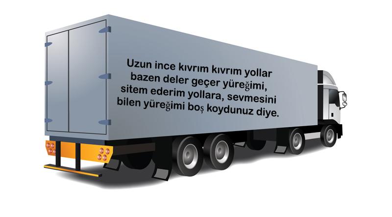 kamyon arkası yazıları resimli