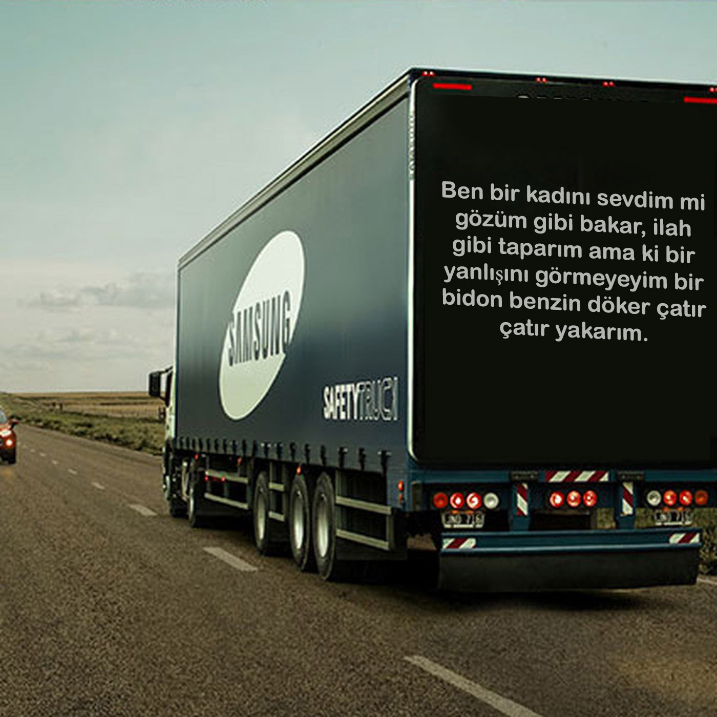 kamyon arkası mesajlar