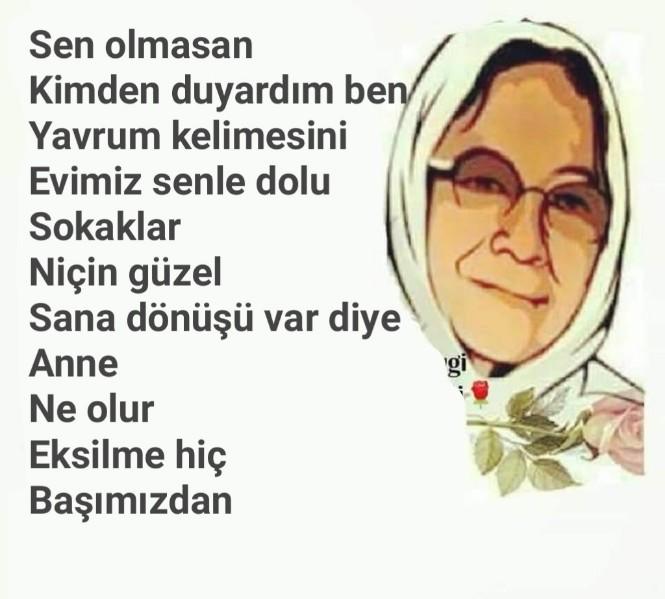 Cahit Zarifoğlu Anne Şiiri