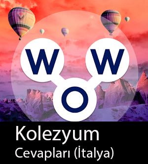 WOW Oyunu – Kolezyum  Cevapları (İtalya)