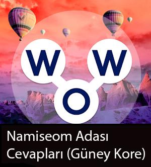 WOW Oyunu – Nami̇seom Adası Cevapları (Güney Kore)