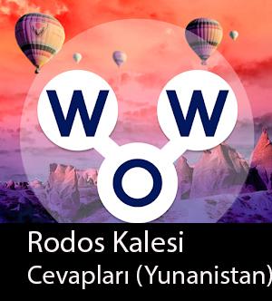 WOW Oyunu – Rodos Kalesi Cevapları (Yunanistan)