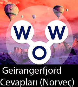 WOW Oyunu – Geirangerfjord Cevapları (Norveç)