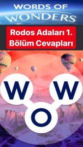 Yunanistan Rodos Adaları Oyunu