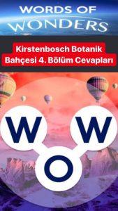 Güney Afrika- Kirstenbosch Botanik Bahçesi 4.Bölüm