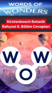 Güney Afrika- Kirstenbosch Botanik Bahçesi 6.Bölüm