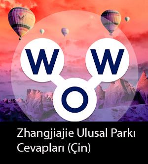 Zhangjiajie Ulusal Parkı çin