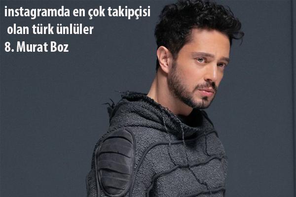 Murat Boz instaram takipçi sayısı