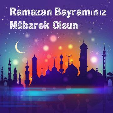 Resimli En Güzel Ramazan Bayramı Mesajları 2020