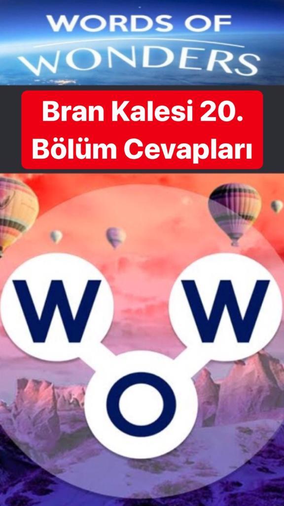 Bran Kalesi 20. Bölüm (Wow- Kelime Bulmaca Oyunu)
