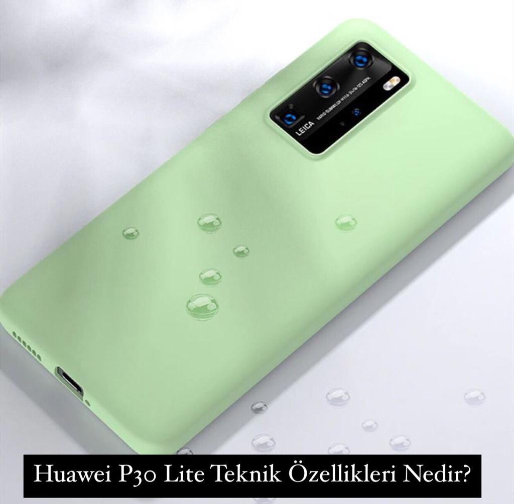Huawei P30 Lite Teknik Özellikleri