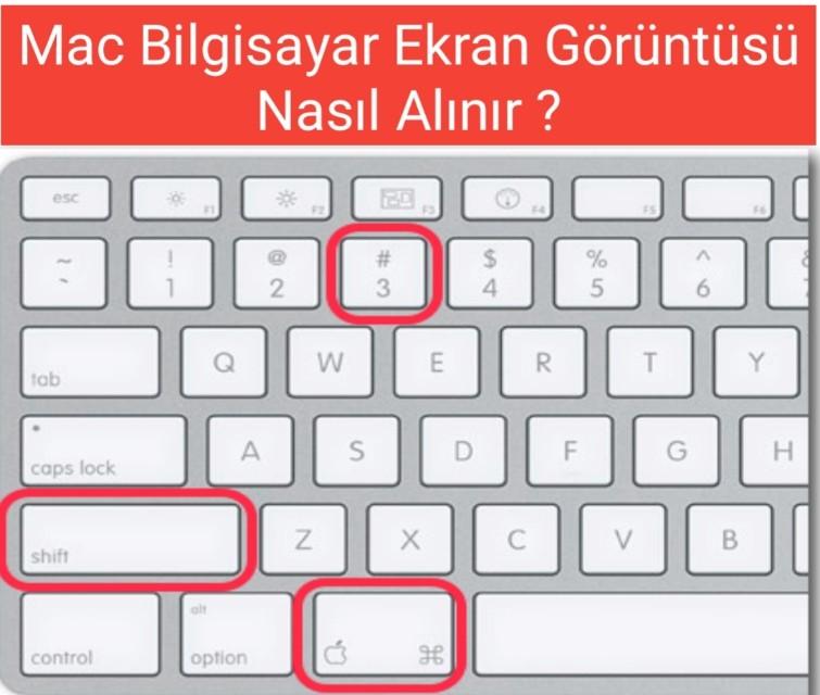 Mac Bilgisayar Ekran Görüntüsü Nasıl Alınır