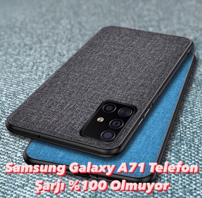 Samsung Galaxy A71 Telefon şarjı