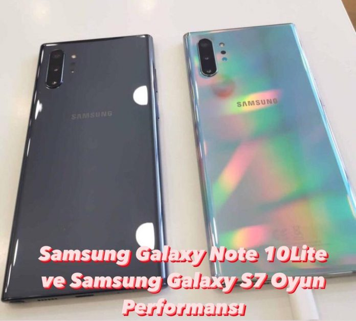 Samsung Galaxy Note 10 lite Oyun performansı