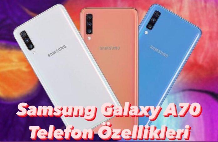 samsung galaxy Samsung Galaxy A70 Teknik Özellikleri