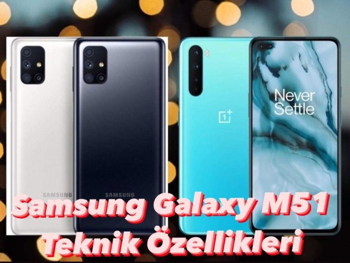Samsung Galaxy M51 Teknik Özellikleri