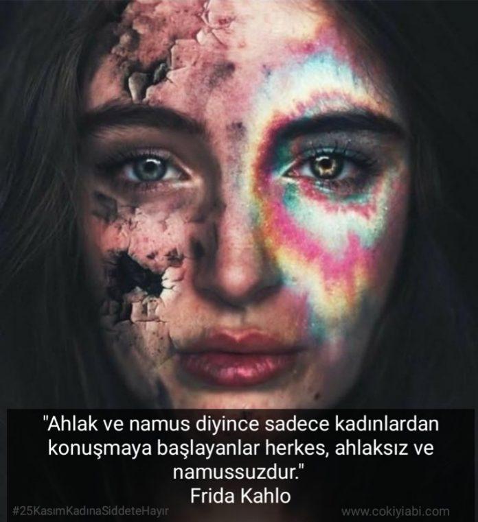 Kadına yönelik şiddete Hayır Mesajları