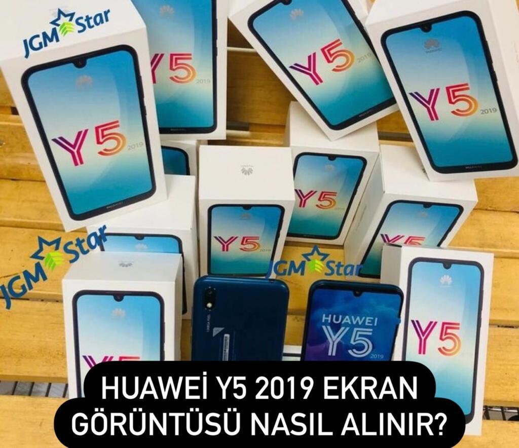Huawei Y5 2019 Ekran Görüntüsü Alma