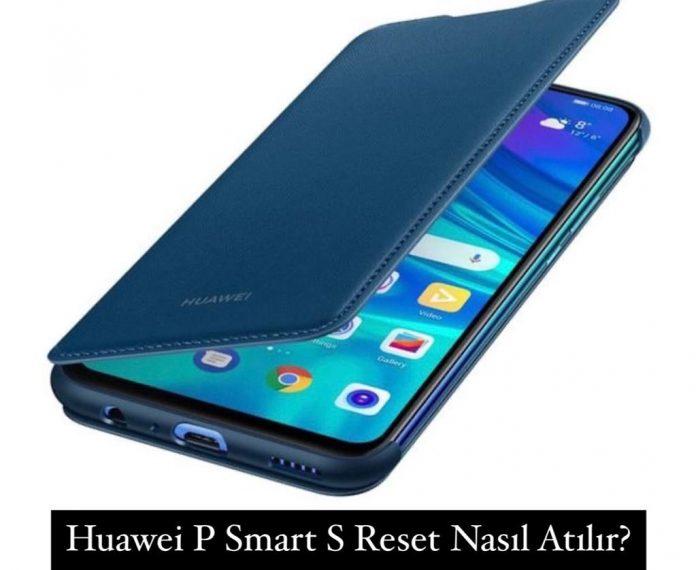 Huawei P Smart S Reset