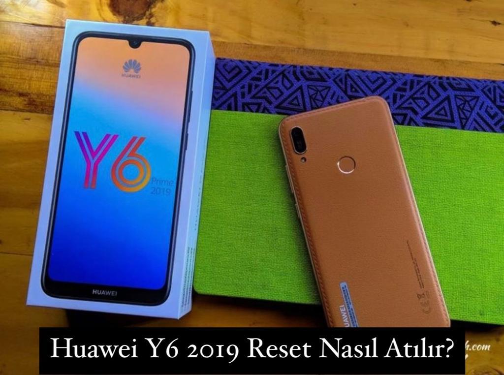 Huawei Y6 2019 Reset Nasıl Atılır?