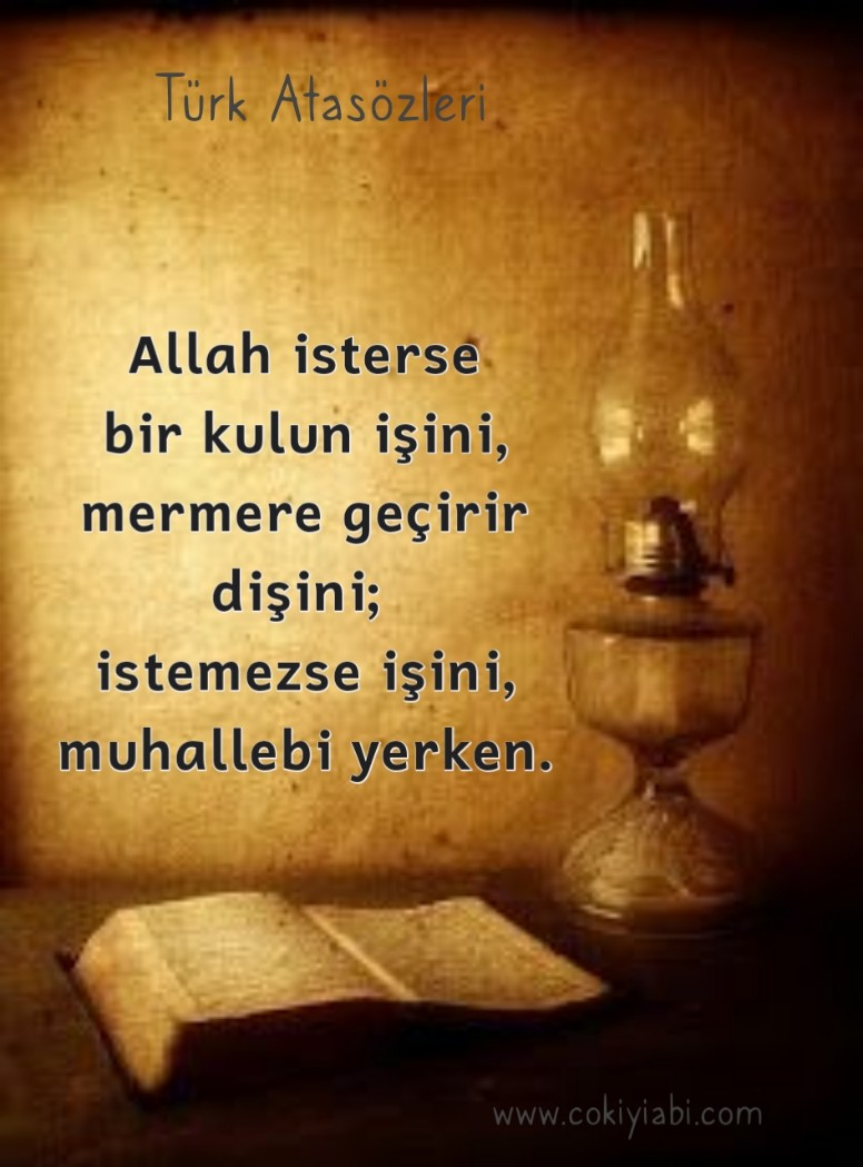 Allah isterse