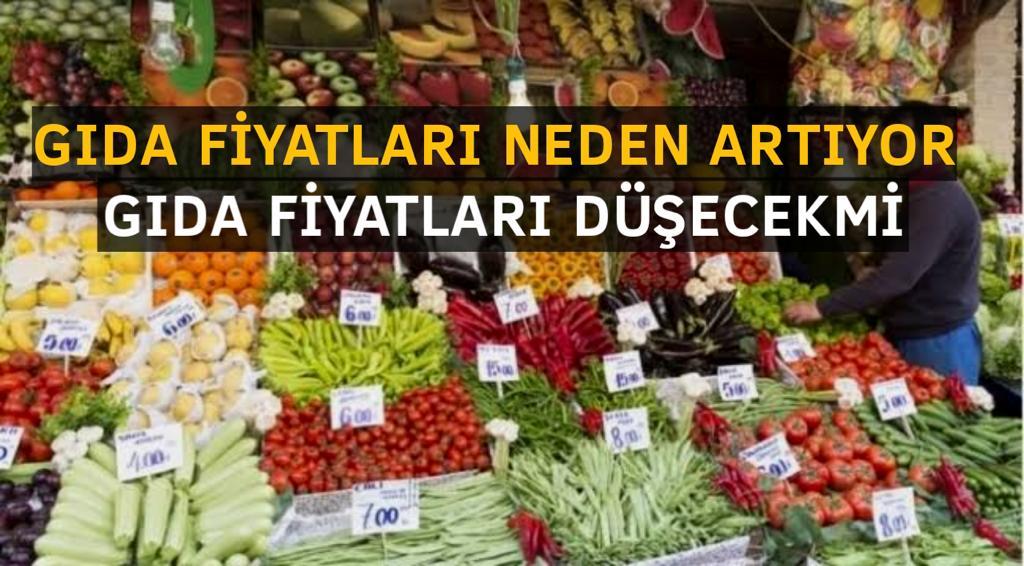 Gıda Fiyatları Düşecek Mi?