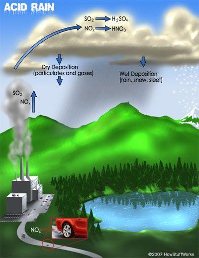 Asit Yağmuru Nedir, Asit Yağmurlarının Toprak Kimyasına Olan Etkisi Nedir?