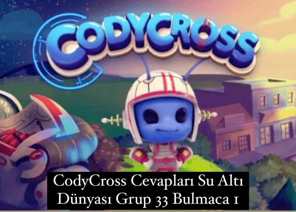 CodyCross Cevapları Su Altı Dünyası Grup 32 Bulamaca 2 (Kelime Bulmaca Oyunu)