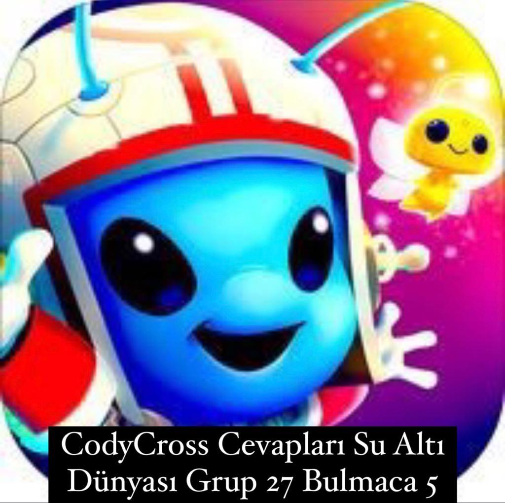 CodyCross Cevapları Su Altı Dünyası Grup 27 Bulamaca 5 (Kelime Bulmaca Oyunu)