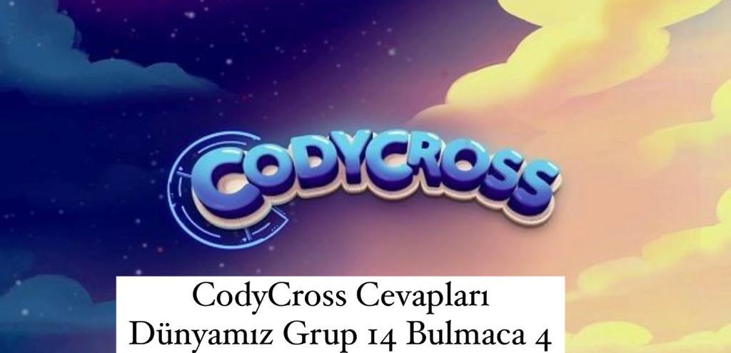 CodyCross Cevapları Dünyamız Grup 14 Bulamaca 4 (Kelime Bulmaca Oyunu)