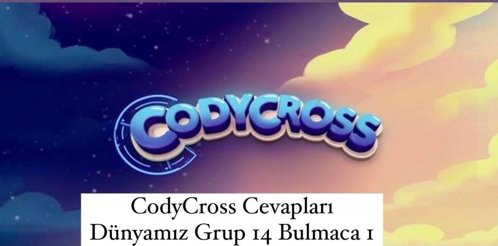 CodyCross Cevapları Dünyamız Grup 14 Bulamaca 1 (Kelime Bulmaca Oyunu)