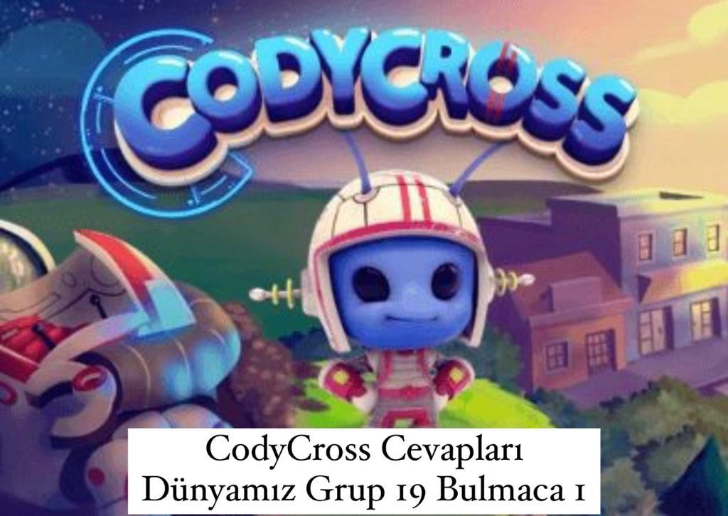 CodyCross Cevapları Dünyamız Grup 19 Bulamaca 1 (Kelime Bulmaca Oyunu)