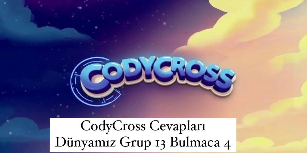 CodyCross Cevapları Dünyamız Grup 13 Bulamaca 2 (Kelime Bulmaca Oyunu)