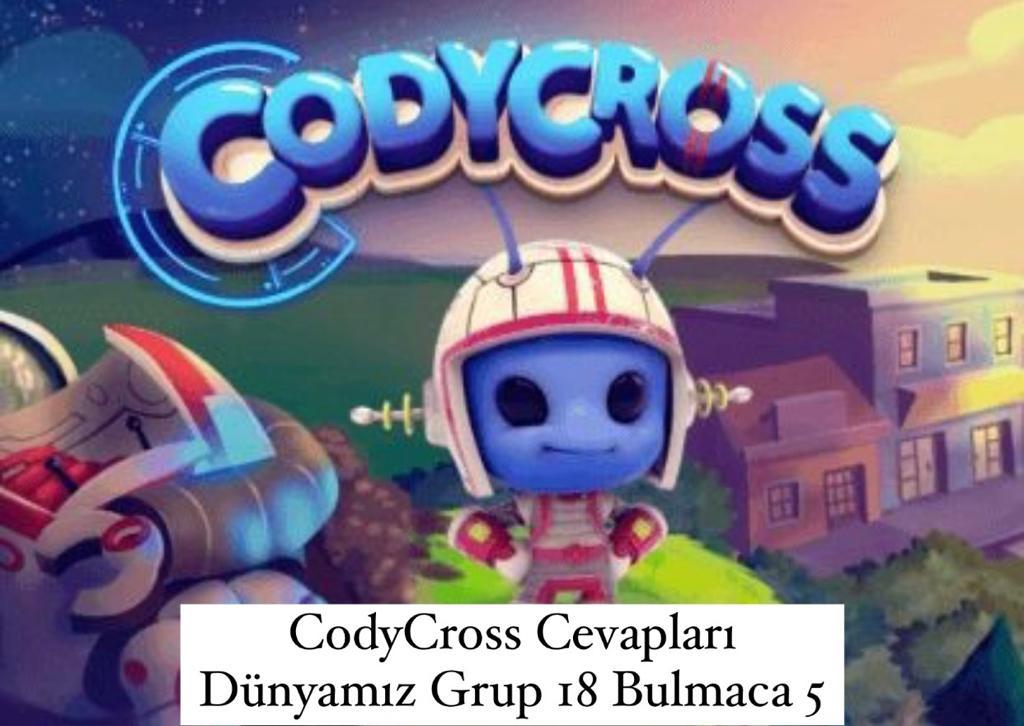 CodyCross Cevapları Dünyamız Grup 18 Bulamaca 2 (Kelime Bulmaca Oyunu)
