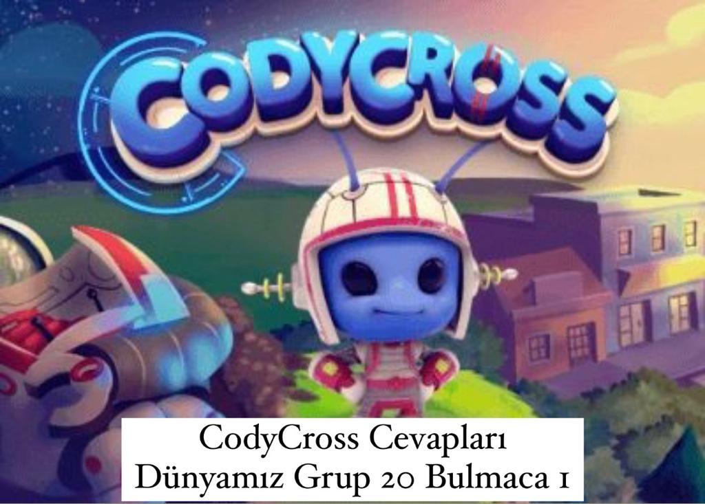CodyCross Cevapları Dünyamız Grup 20 Bulamaca 1 (Kelime Bulmaca Oyunu)