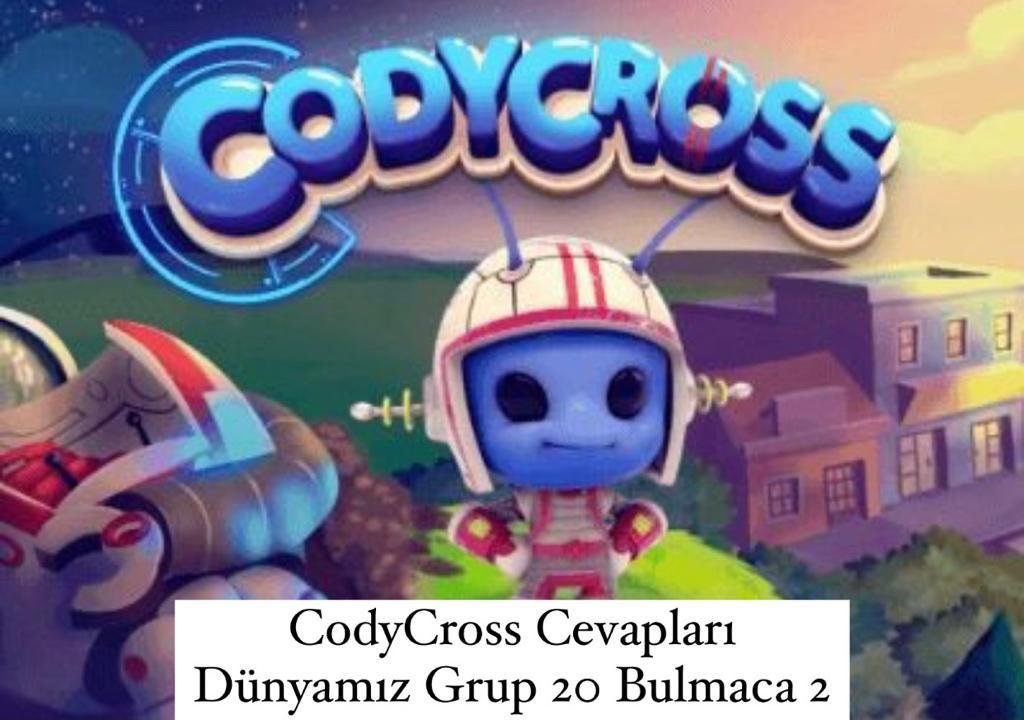 CodyCross Cevapları Dünyamız Grup 20 Bulamaca 2 (Kelime Bulmaca Oyunu)