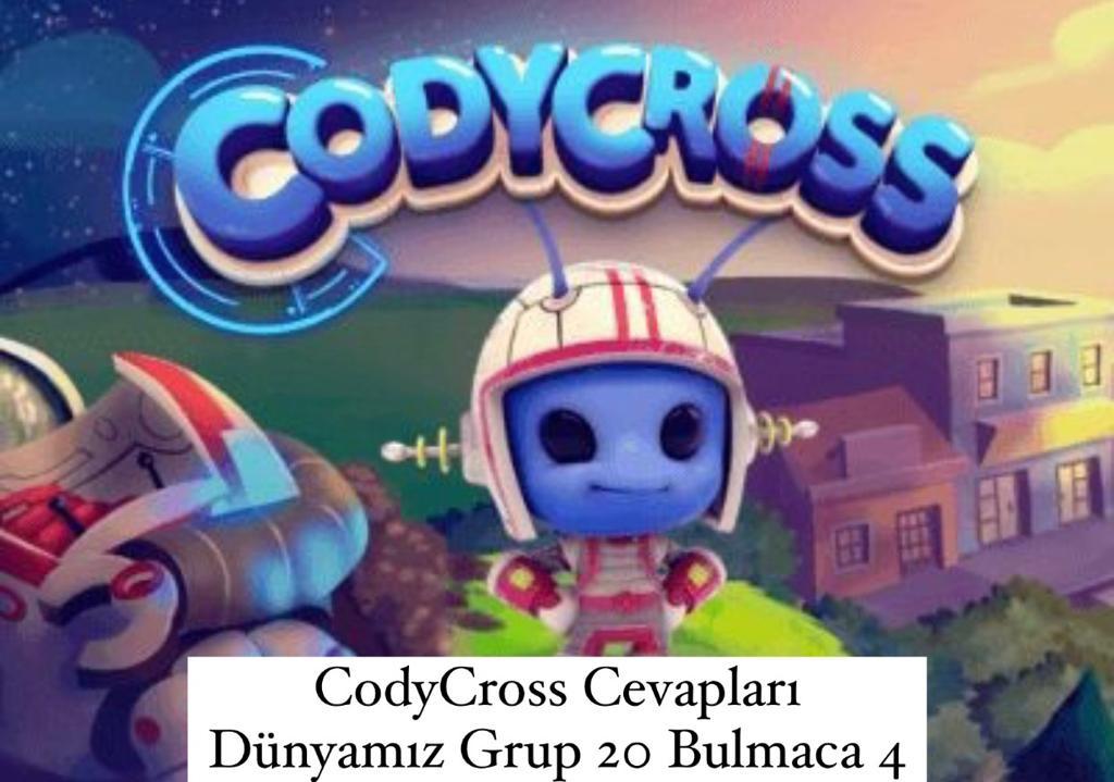 CodyCross Cevapları Dünyamız Grup 20 Bulamaca 4 (Kelime Bulmaca Oyunu)