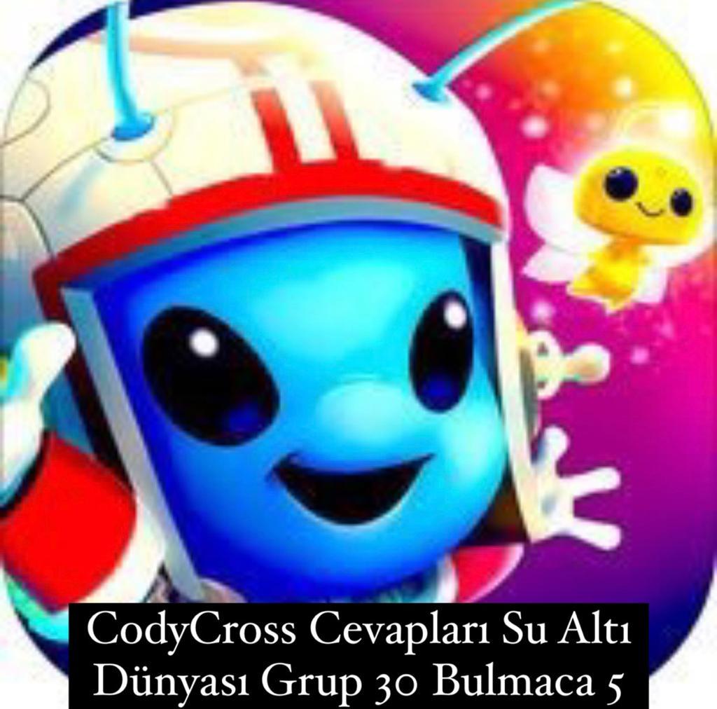 CodyCross Cevapları Su Altı Dünyası Grup 30 Bulamaca 5 (Kelime Bulmaca Oyunu)