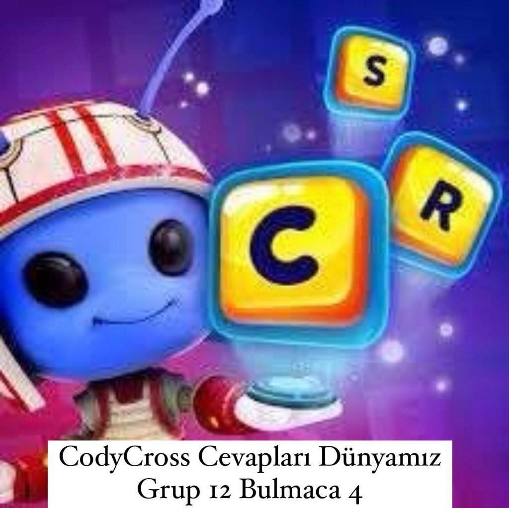 CodyCross Cevapları Dünyamız Grup 12 Bulamaca 1 (Kelime Bulmaca Oyunu)