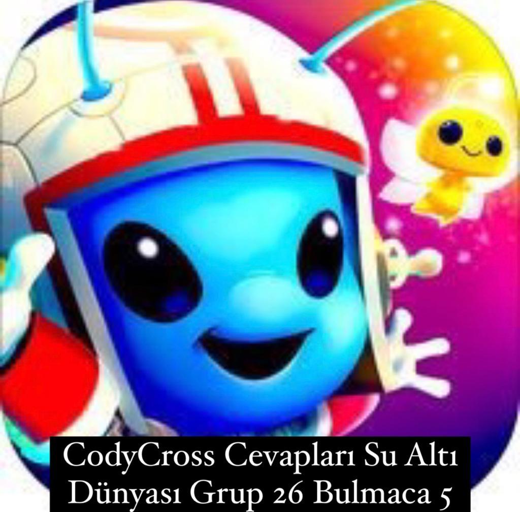 CodyCross Cevapları Su Altı Dünyası Grup 26 Bulamaca 5 (Kelime Bulmaca Oyunu)