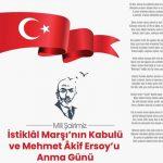 Mehmet Akif Ersoy istiklal marşı