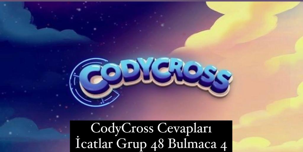 CodyCross Cevapları İcatlar Grup 48 Bulamaca 4 (Kelime Bulmaca Oyunu)