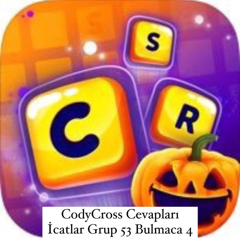 CodyCross Cevapları İcatlar Grup 53 Bulamaca 4 (Kelime Bulmaca Oyunu)