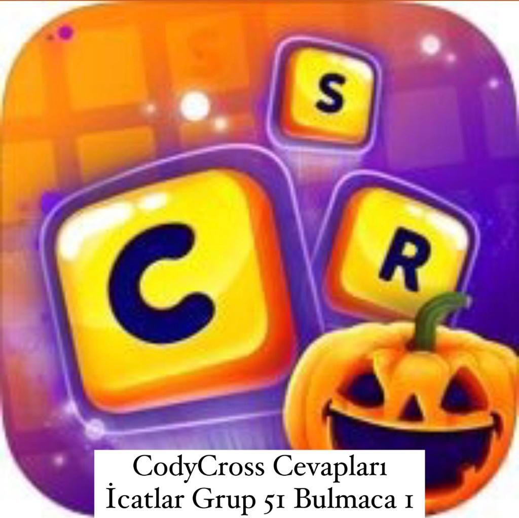 CodyCross Cevapları İcatlar Grup 51 Bulamaca 1 (Kelime Bulmaca Oyunu)