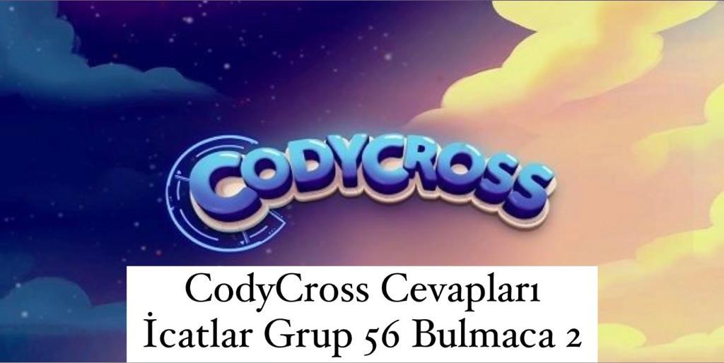 CodyCross Cevapları İcatlar Grup 56 Bulamaca 2 (Kelime Bulmaca Oyunu)