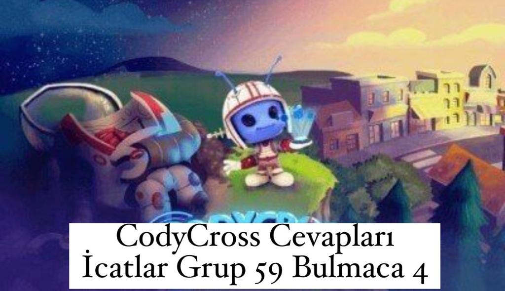 CodyCross Cevapları İcatlar Grup 59 Bulamaca 4 (Kelime Bulmaca Oyunu)